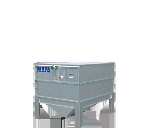Pelletsutrustning Mafa Bulkförråd