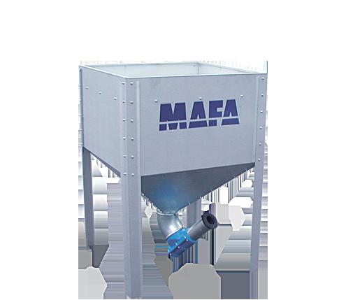Pelletsutrustning Mafa veckoförråd